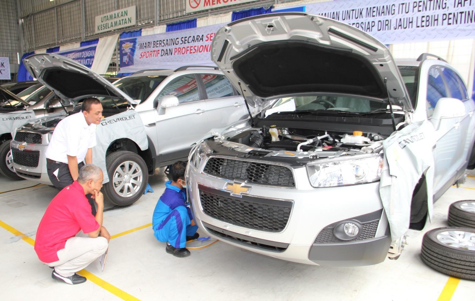 Kontes chevrolet customer care se indonesia diadakan di for General motors chevrolet customer service
